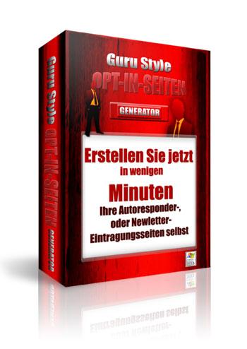 Guru Optin Seiten Generator Cover